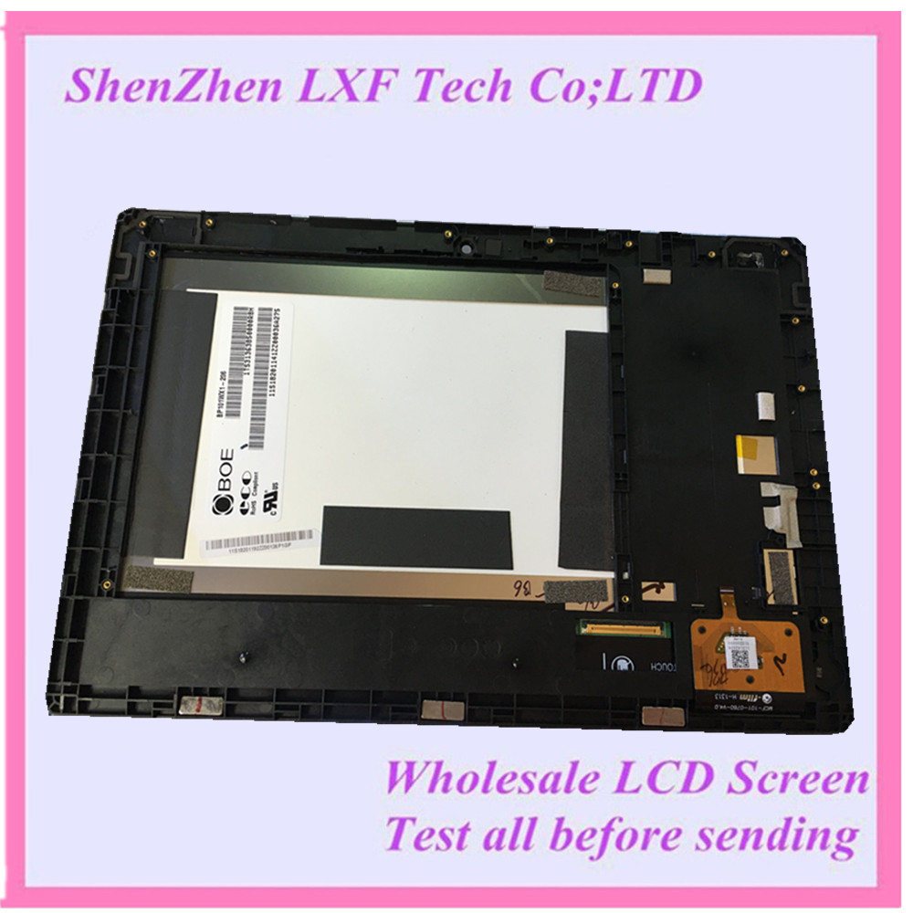 For Lenovo IdeaTab S6000 LCD Display Screen+Touch Screen Panel Digitizer+ Assembly Replacement BP101wx1-206 MCF-101-0760-v4.0 аксессуар чехол lenovo ideatab s6000 g case executive white