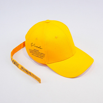 Korean version of the English letter long strap baseball cap male summer trend duck cap female trip sun hat couple бейсболк мужские