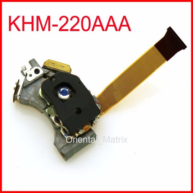 Frete Grátis Mecanismo KHM-220AAA captação Óptica para KHM-220AAA KHM-200A CD Laser Lens Lasereinheit Optical Pick-up