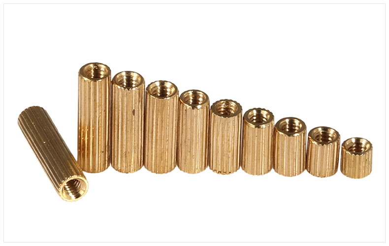 50pcs/lot copper pillar round Circuit Board Installed M2 column copper pillar for Monitoring CCTV Camera Assembly Accessories nas qnap ts 651 4g