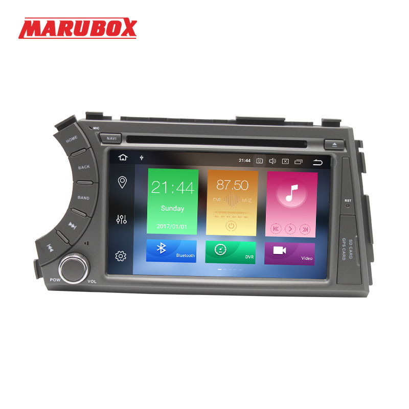MARUBOX Double Din 4G RAM Android 9 0 Car Multimedia Player For SSANGYONG Kyron 2005 2015