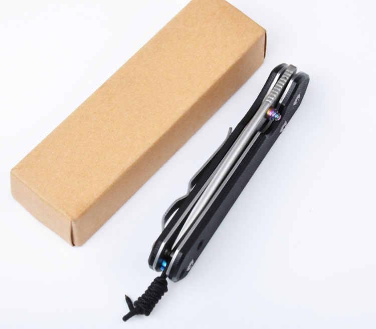 58HRC 5Cr15Mov лезвие G10 Ручка складной карманный охотничий нож лагерь тактический нож для выживания EDC инструменты