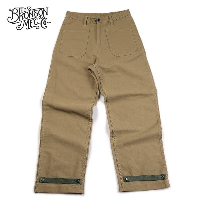 Бронсон 11 унций джунгли крест N 1 палубные брюки свободный крой USN военные мужские брюки