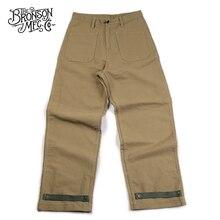 Bronson 11oz Jungle Cross N-1 Deck Pants Loose Fit USN Military Mens Trousers