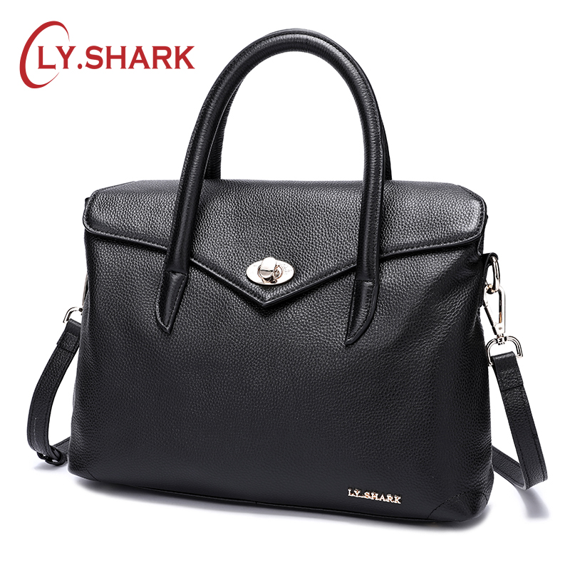 LY.SHARK Handbags For Women 2018 Ladies Genuine Leather Handbag Messenger Bag Women Bag Women Shoulder Bag For Female Bags Women 2018 women handbags leather handbag women messenger bags ladies brand designs bag famous bags handbag purse messenger bag 3 sets