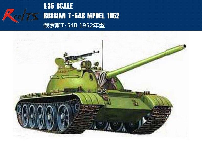 RealTS Trompettiste 00338 1/35 Russe T-54B Mod 1952 en plastique modèle kit
