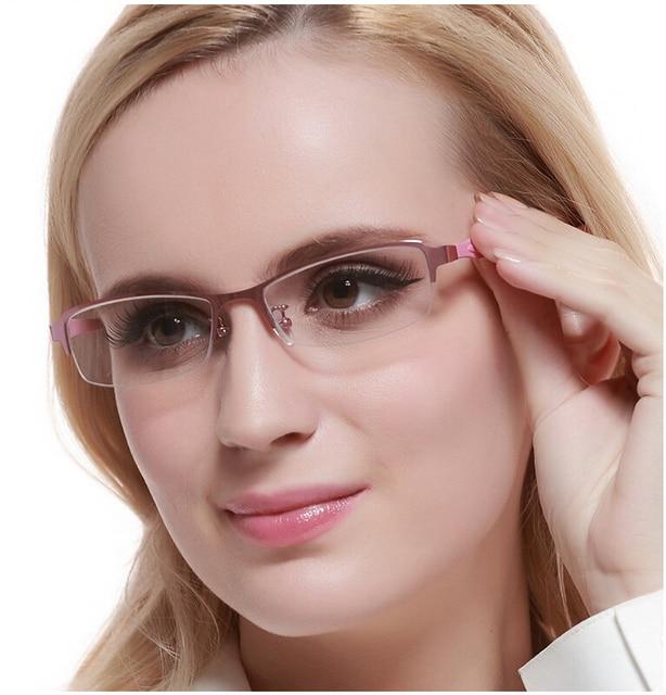 44ed87fffb Para mujer blear ojos gafas para miope miope anteojos mujeres moda marco  gafas de lectura presbicia