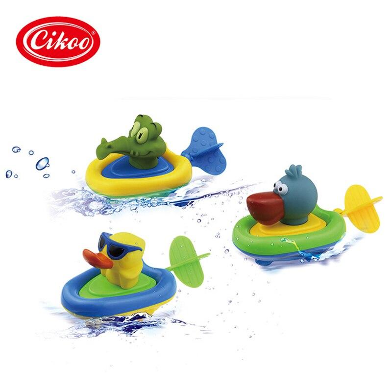 Cikoo dra leksaker barn badning baby vatten amfibisk WJ515
