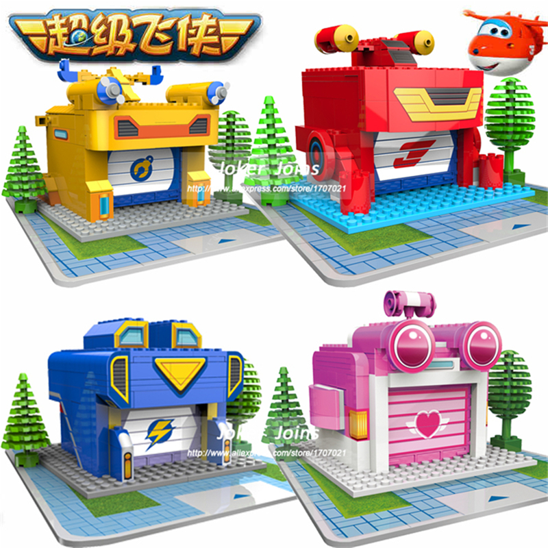 super wings luanching base assemble blocks toys deformation airplane robot action figures transformation boys gift - Sprout Super Wings Coloring Pages