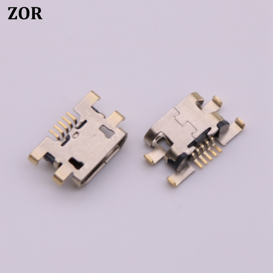 5-20pcs Mini Micro USB Jack Charging Connector Dock Port Socket Power Plug Replacement Repair Part For Lenovo Vibe C2 K10A40 K10
