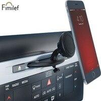 Fimilef samochodowy magnetyczny uchwyt na telefon do wejścia na cd do statywu wsparcie telefon komórkowy uchwyt do smartfona w samochodzie na Iphone5 6 7 8 w Uchwyty i podstawki do telefonów komórkowych od Telefony komórkowe i telekomunikacja na