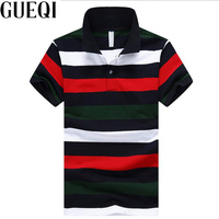 Gueqi color striped men polo shirts plus size m 4xl color patchwork breathable man cotton summer.jpg 200x200