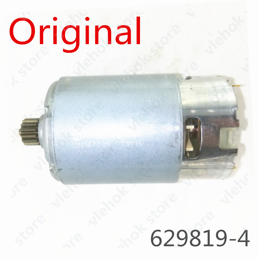 14 Teeth Motor Genuine Parts 629819-4 DC 14.4V For <font><b>MAKITA</b></font> 6280DWPE3 6280D 6280DWE 6281DWE BDF343 6281DWPE MT070 <font><b>6281D</b></font> Drill tool image