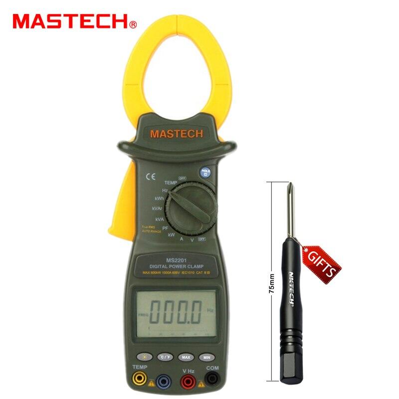 Power Factor Meter : Mastech ms digital power clamp meter active apparent