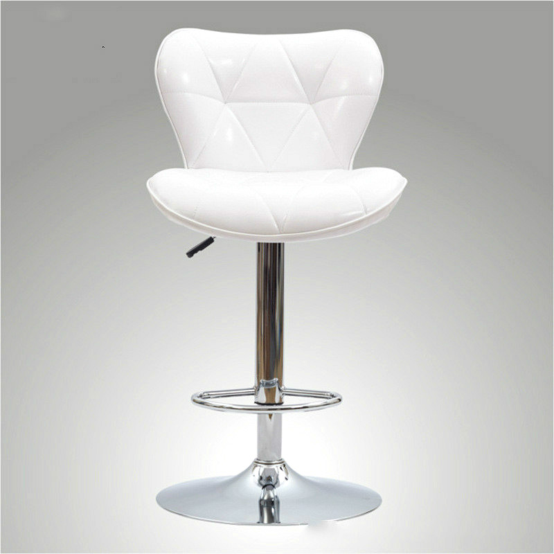 Hot Selling Lifting Rotary High Foot Bar Chair Casual Thickening Bar Leather Chair 4 Colors Optional