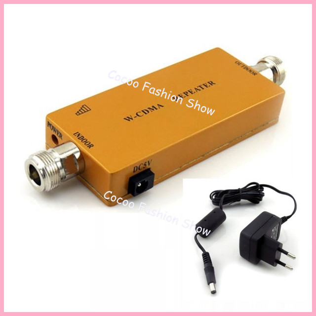 Mini FDD UMTS W-CDMA 3G Repeater 2100MHz Cellular Signal Booster 3G WCDMA 2100Mhz repetidor Cell Phone Signal Repeater Amplifier