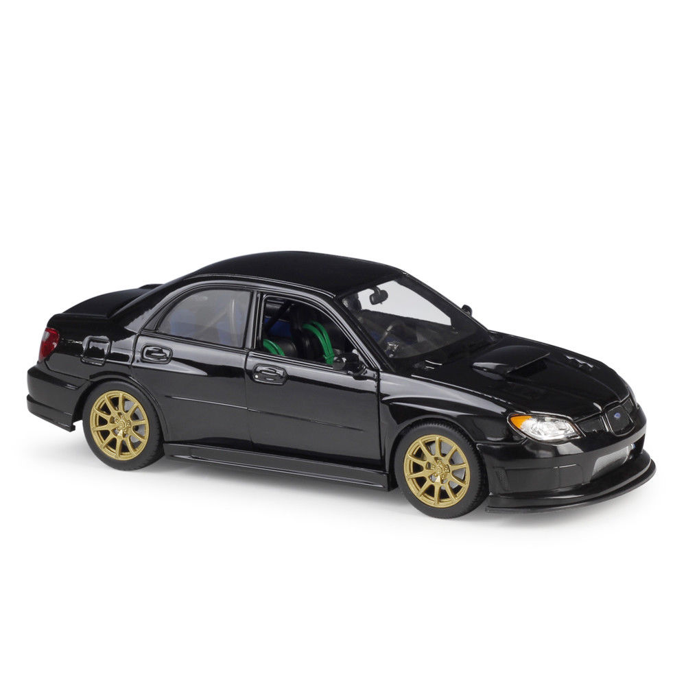 Welly 1:24 Subaru Impreza WRX STI Diecast Model Sports Racing Car Vehicle NEW IN BOX