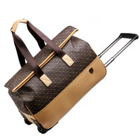PU Suitcase, printing Luggage Box , trolley wheel trolley Case , Rolling Trolley Bag ,trip trunk, student travel bags