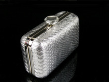1463 S Silber Schlange muster Dame Fashion Hochzeit Braut Party Night clutch abendtasche handtasche box IN FREIER VERSAND