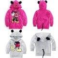 Meninos meninas manga comprida Hoodies crianças Mickey Minnie dos desenhos animados para 2 - 6 anos idade