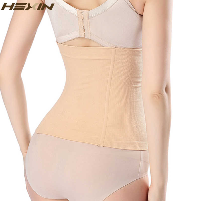816fe5c2f62 ... HEXIN Waist Trainer Corset Weight Loss Workout Body Shaper Seamless Hip Women  Modeling Girdle Slimming Belt ...