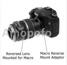 Amopofo Lente de 49mm a 77mm Macro Reversa Anel Adaptador Para Sony Alpha AF Um monte DSLR camera