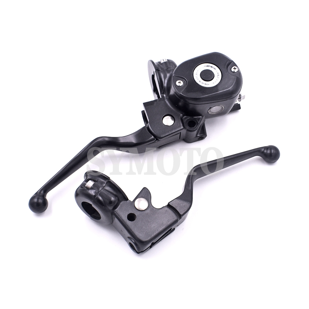 Motorcycle Clutch levers Brake pump Master Cylinder Levers For Harley Davidson sportster IRON 883 1200 48 72 XL 2004-2013