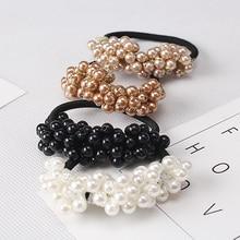 Women Hair Pearls Headbands