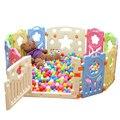 Interior Crianças Cercadinho Cerca Jogo Do Bebê Ao Ar Livre para As Crianças Atividade Engrenagem Proteção Ambiental PE Segurança Jarda do Jogo