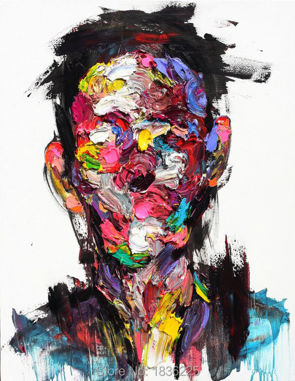 Aliexpress.com : Buy Face Oil Painting Palette knife man