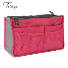 2016 New Multi Functional Wash Bag Makeup Bag Storage Organizer Bag  Ladies Travel Toiletry Double Zip Home Storage