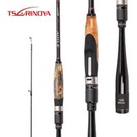 TSURINOYA AGILE 2Sec 1.95m 2.01m 2.18m L/ML Fast Spinning Rod Casting Rod FUJI Accessory Pesca Carbon Lure Fishing Stick Olta