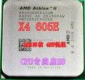 Новый нет упаковочной коробки Для AMD Athlon четырехъядерные процессоры X4 605E CPU AM3 938 контактный