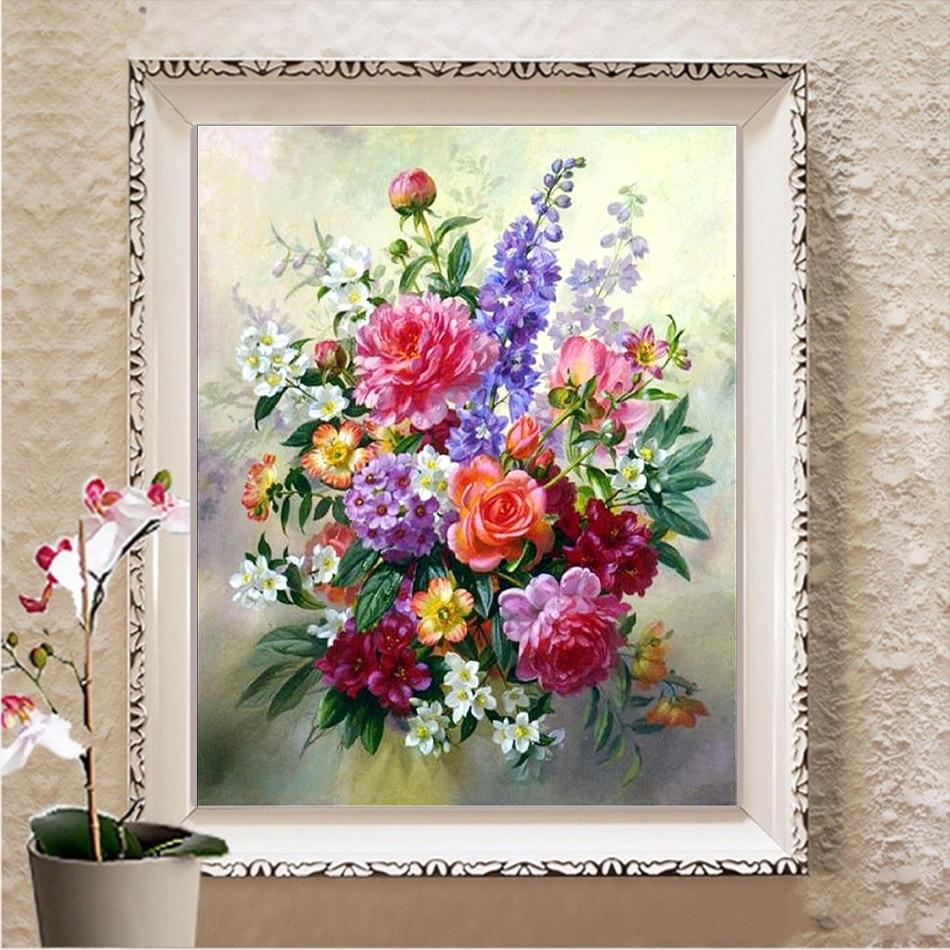 Cattleya DIY Diamond Embroidery Flower 5D