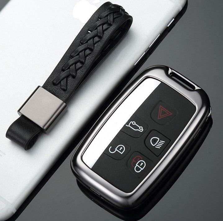 High Quality Car Key Holder Cover Bag Shell Pocket For Land Rover Range Rover Sport Evoque Discovery Sport For Jaguar XE цена 2017