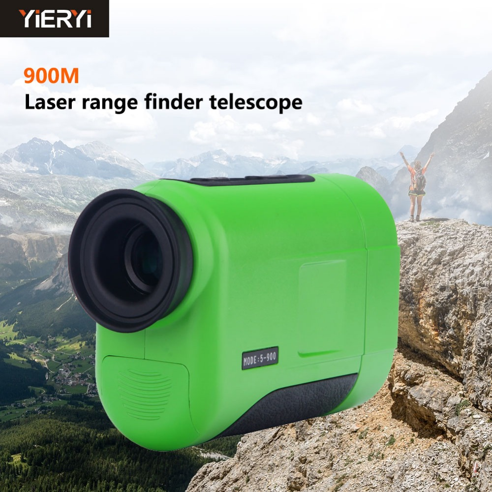 New 900m 6X Multifunctional Golf Monocular Laser Rangefinder Handheld Telescope  Distance Meter Range Finder For Golf Hunting new arrival multifunctional distance meter 4 500m laser rangefinder shimmer infrared ray night visions not including battery