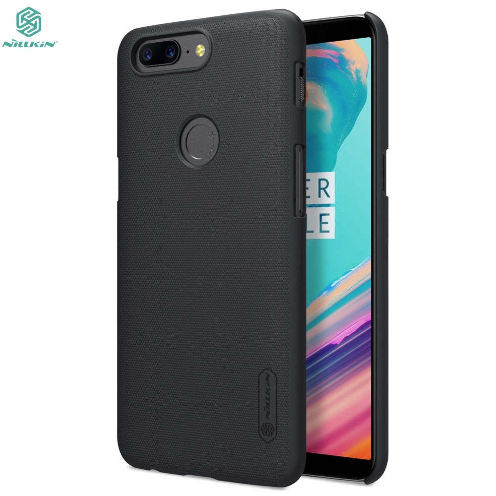Oneplus 5T case Oneplus 5T cover NILLKIN Super Frosted Shield hard bumper back Cover For one plus 5T matte phone bag case