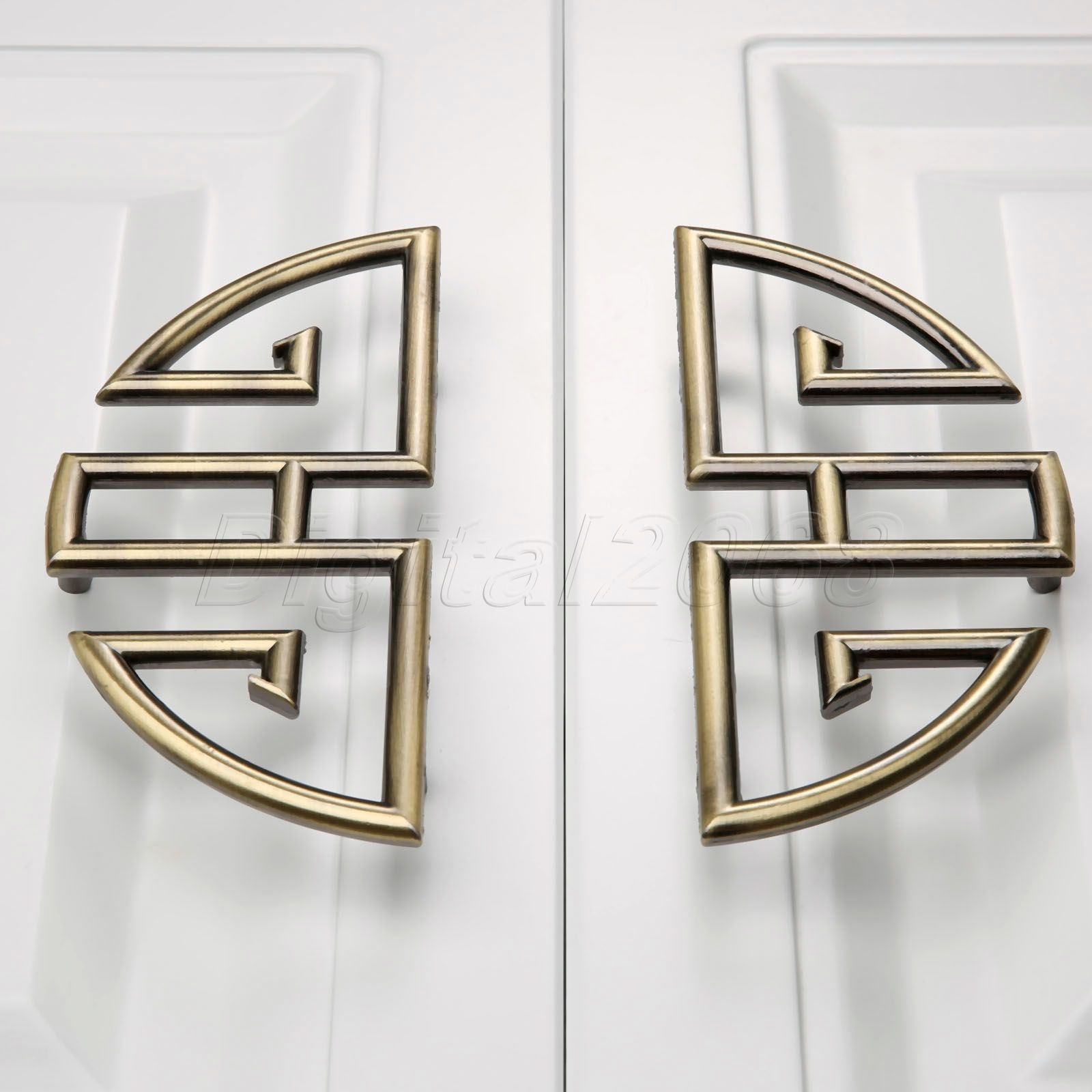 online get cheap kitchen door furniture aliexpress com alibaba 1 pair 96mm vintage furniture cupboard wardrobe handles and knobs antique bronze alloy kitchen cabinet door