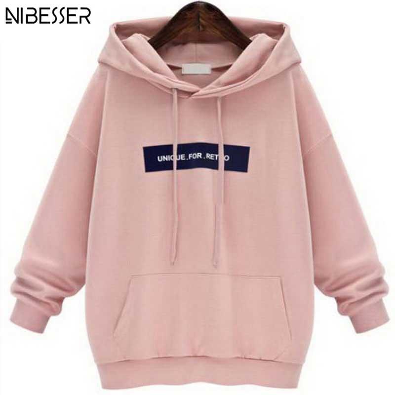 2017 Autumn Winter Plus Size Hoodie Sweatshirt Women Hoodies Brand Long Sleeves Female Sweatshirt Thicken Hooded Sweatshirt