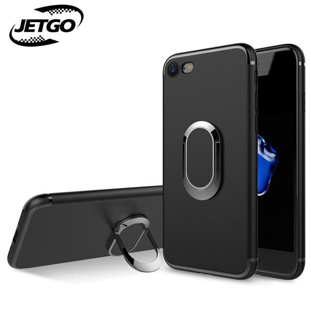 JETGO Case for iphone 8 Luxury silicone frame+TPU back cover with ...