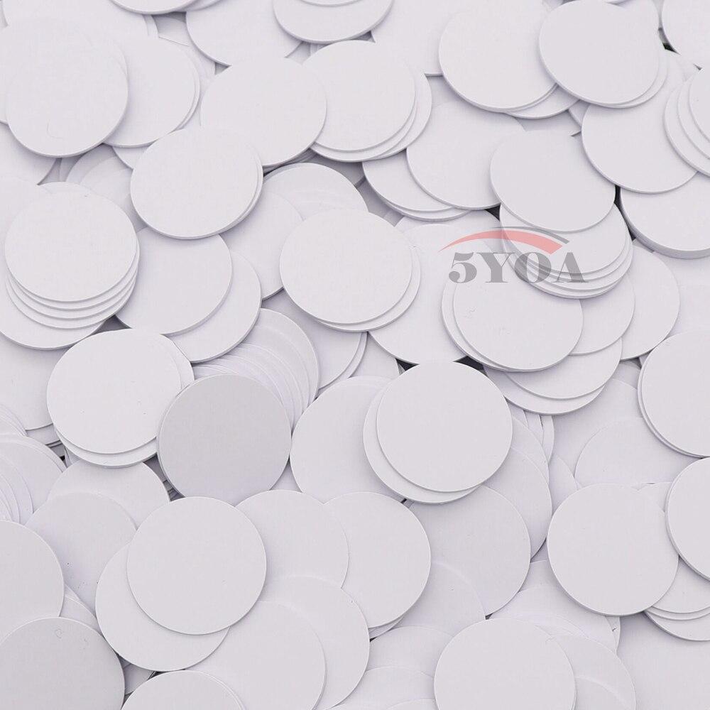 10pcs/Lot Ntag215 NFC TAG Sticker Key Tags llaveros llavero
