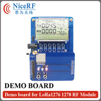 Lora DEMO Board With LCD Display For Testing LoRa1276 LoRa1278 Transceiver Module