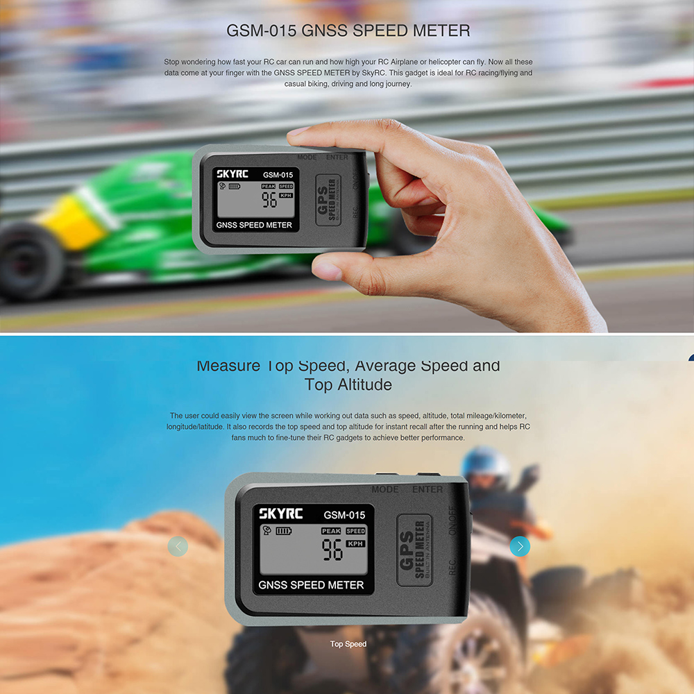Image 5 - GOOLRC GSM 015 GNSS GPS Speed Meter for RC Drones FPV Multirotor Quadcopter Airplane Helicopter RC Car RC Part Toy For RC Lovers-in Parts & Accessories from Toys & Hobbies