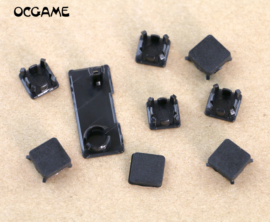 9 In 1 Full Set Dust Plug Cover Screw Plastic Plug Feet Cover Set For Ps3 Slim Console Ocgame In Pain