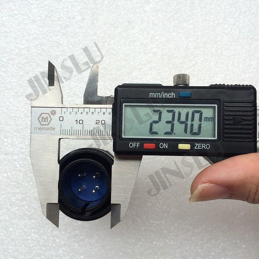 4 Prong Pins Pin Stecker Buchse Luftfahrt-stecker Schweißen Verbrauchs für TIG MIG MAG Plasma Schneiden Taschenlampe