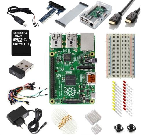 Raspberry Pi 3 Model B Complete Starter Kit