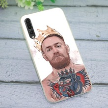 Case for Huawei Honor 7A Pro Conor McGregor Phone Cover for 7X 8 Lite 8C 7C 10 Note 9 Y6 2018 Y7 Y9 Nove 3 3i 6A cover for huawei honor 8 lite orange is the new black phone case for 8c 7c 9 10 note y6 2018 y7 y9 nove 3 3i 6a 7a 7x pro