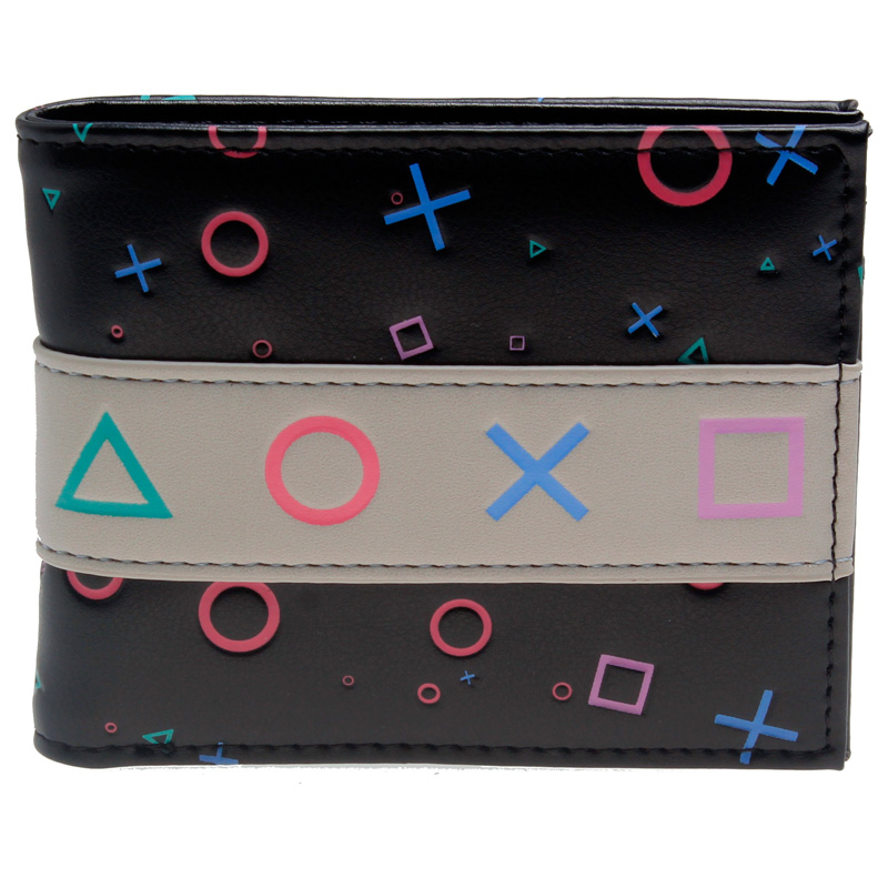Playstation Console  Bifold PU Wallet  DFT-10096 playstation