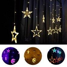 лучшая цена LED Christmas String Fairy lights Outdoor AC220V EU Plug Garland Lamp Decorations for Home Party Garden Wedding Holiday lighting
