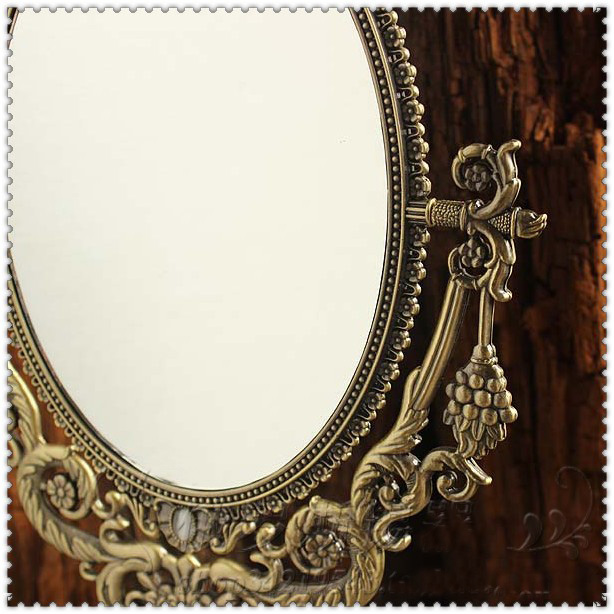 espelho de maquiagem decorativo cômoda espelho cosmético